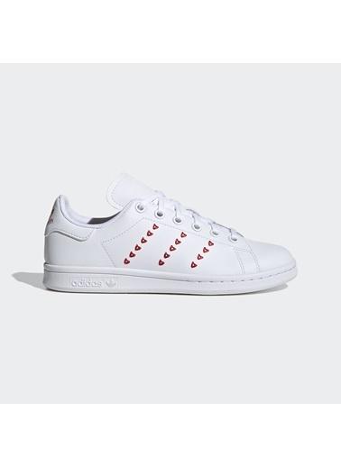 adidas Unisex Çocuk Stan Smith  Spor Ayakkabı EG6495 Beyaz